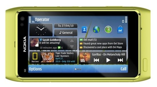 Green Nokia N8