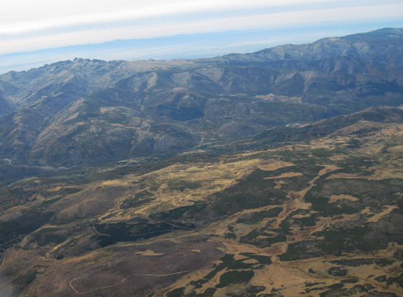 Another aerial image of Spain from our Canon stills camera