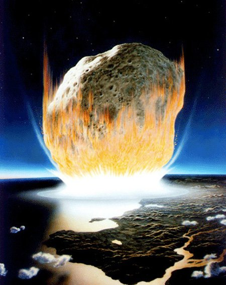 NASA's Impression of the K-T Impact