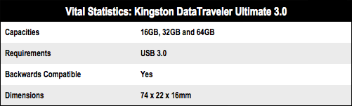 Kingston DataTraveler Ultimate 3.0