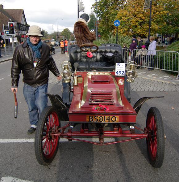 John deploys the crank handle again in Crawley