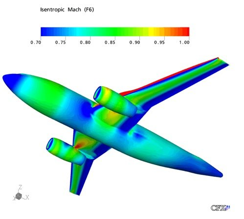 Boeing 787 Ansys run from Panasa