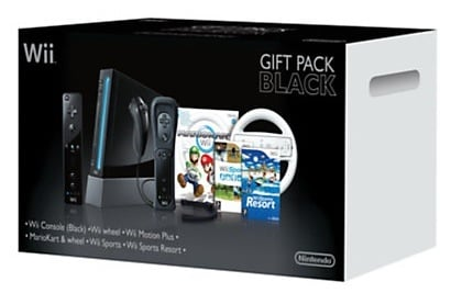 Nintendo Wii Black Pack