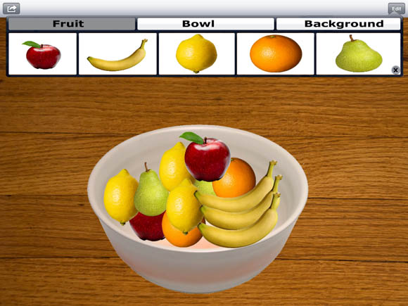 Simple Fruit Bowl