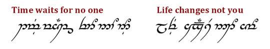 Tengwar Script
