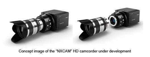 Sony NXCAM