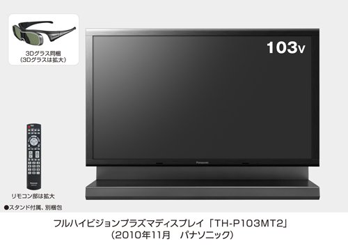 Panasonic Viera 103in