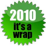 2010: it's a wrap