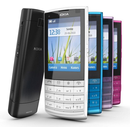Nokia X3 Touch and Type