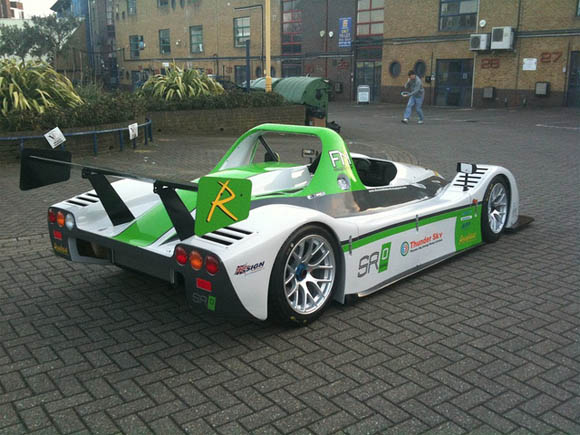 Racing Green Endurance team's SRZero electric car