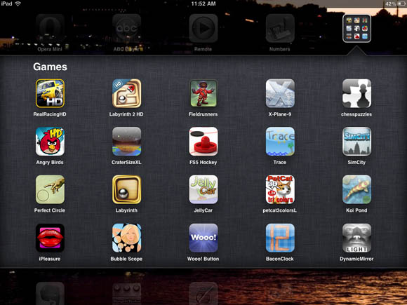 iOS 4.2 - folders