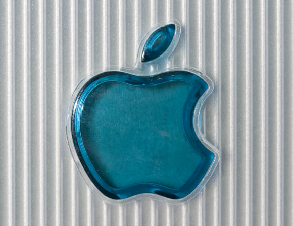 Bondi Blue Rev. B iMac - logo