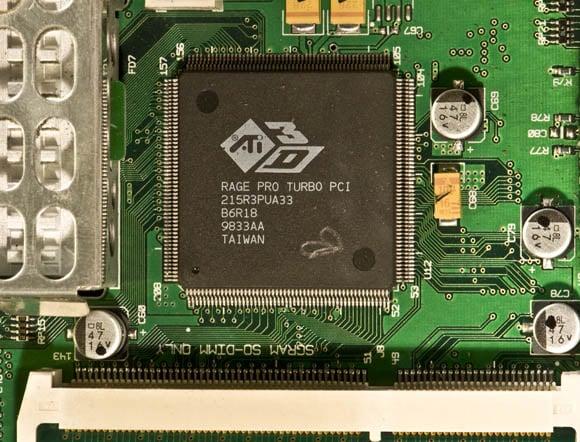 Bondi Blue Rev. B iMac - GPU