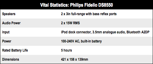 Philips Fidelio DS8550