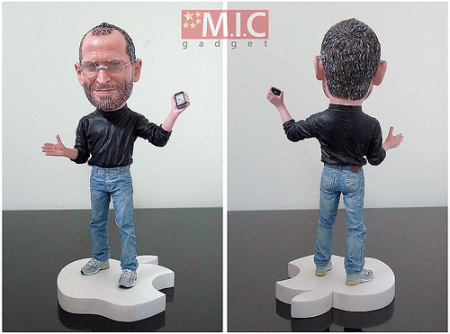 Steve Jobs doll
