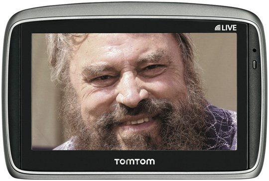 Brian Blessed TomTom