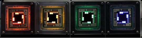 QD Vision QLED array