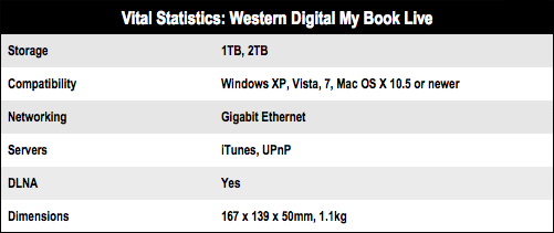 Western Digital My Book Live