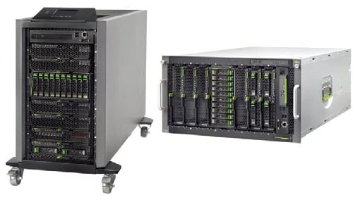 Fujitsu BX400 Blade Server