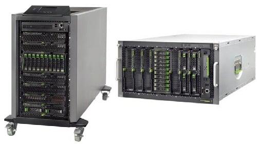 Fujitsu BX400 Blade Server