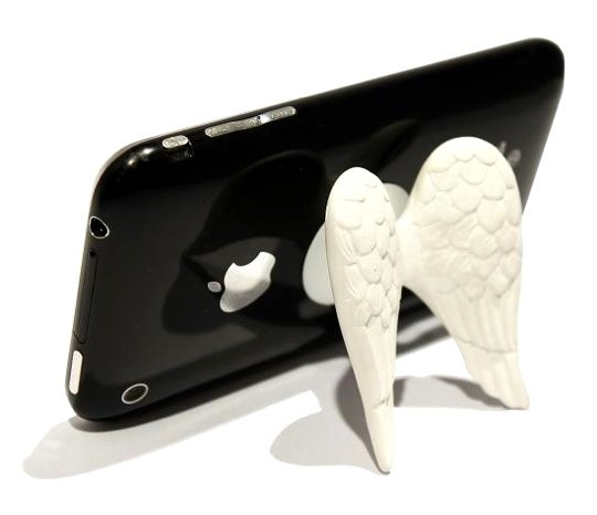 Cupid Wings iPhone stand