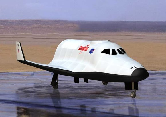 Concept pic of the proposed CCDev spaceplane. Credit: OSC