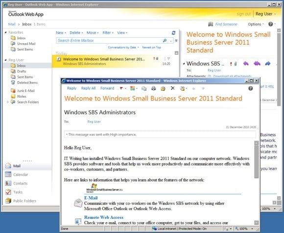 Exchange 2010 upgraded Web Outlook App