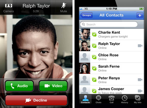 Skype 3.0 for iPhone