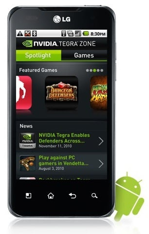 Nvidia Tegra Zone