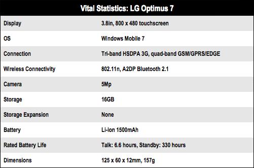 LG Optimus 7
