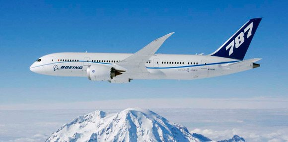 The 787 Dreamliner. Pic: Boeing