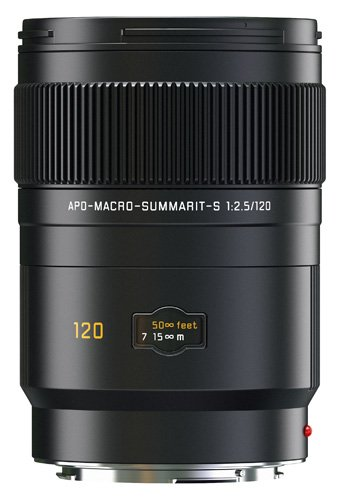 Leica APO-Macro-Summarit-S 120 mm f/2.5 CS