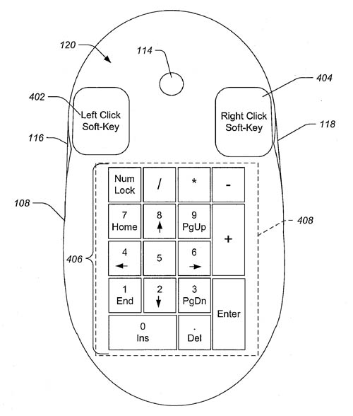 Apple 'display mouse' patent application