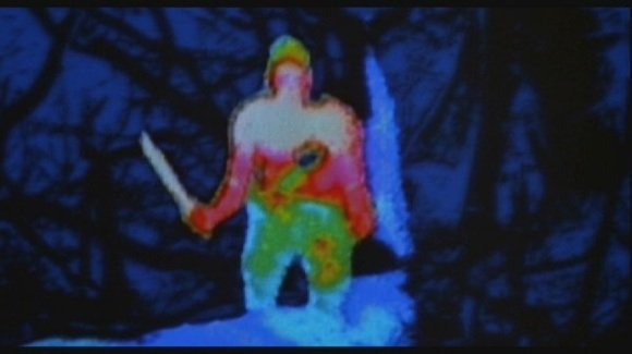 Somewhat implausible thermogram as imagined in the Predator movies