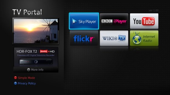 Humax TV Portal