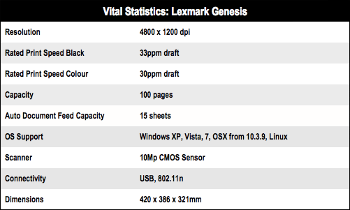 Lexmark Genesis