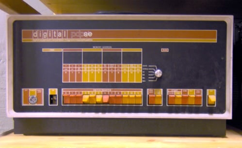 PDP_8_front_panel