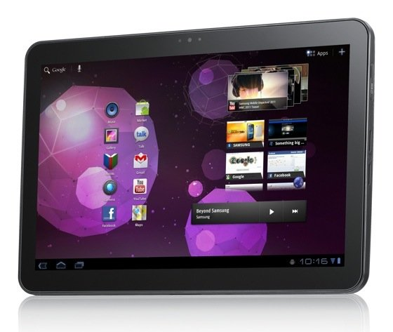 Samsung Galaxy Tab 10in