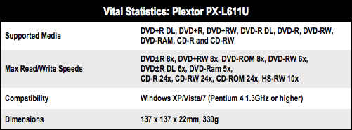 Plextor PX-L611U