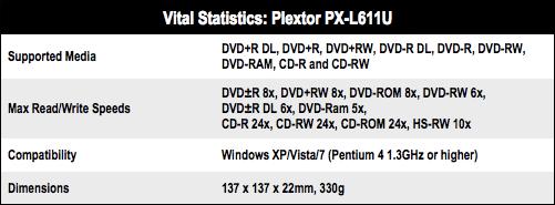 Plextor PX-L611U