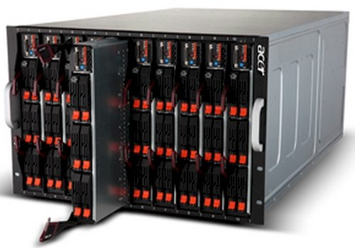 Acer AB blade chassis and servers