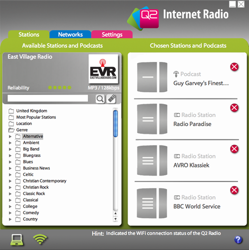 Q2 Internet radio