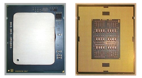 Intel Westmere-EX Package