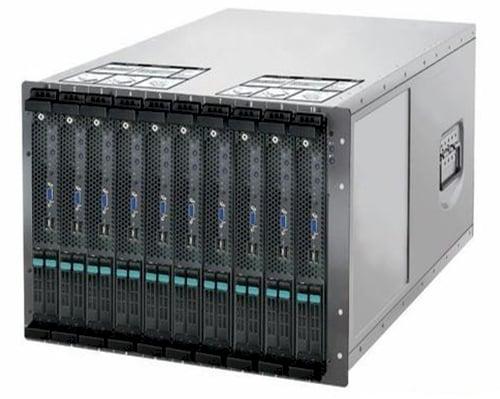 Godson-3B blade server chassis