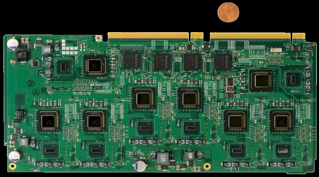  SeaMicro Z530 server board