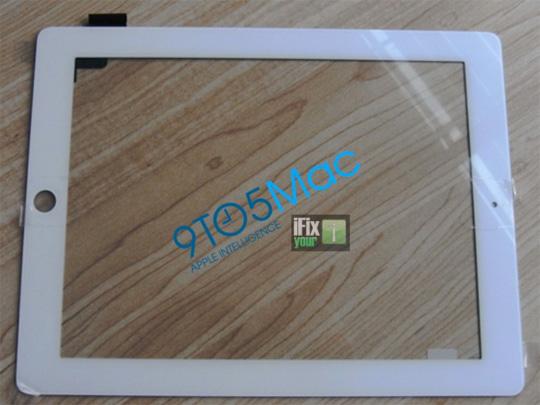 iPad 2 faceplate