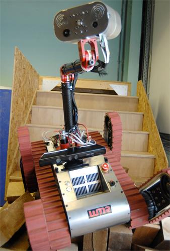 WMR Kinect Robot