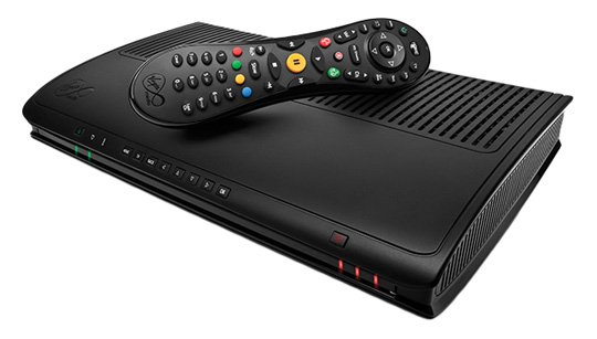 Virgin Media TiVo box