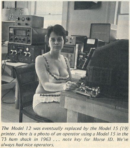 Teletype Model 12