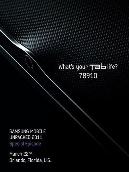 Samsung tablet teaser